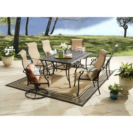 Better Homes And Gardens Southgate Drive 7 Piece Aluminum Sling Dining Set