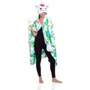 eb07f950 Secret Treasures Women's Sleepwear Cozy Wrap Robe with Hood ...