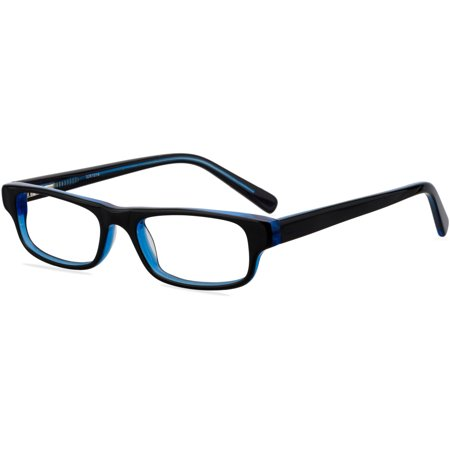 38465922d47 Contour Youths Prescription Glasses, FM14043 Black/Blue ...
