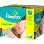 Pampers Swaddlers Diapers, (Choose Your Size)