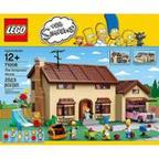 LEGO The Simpsons House Play Set
