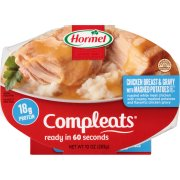 Hormel Compleats Chicken Breast & Gravy with Mashed Potatoes, 10 oz